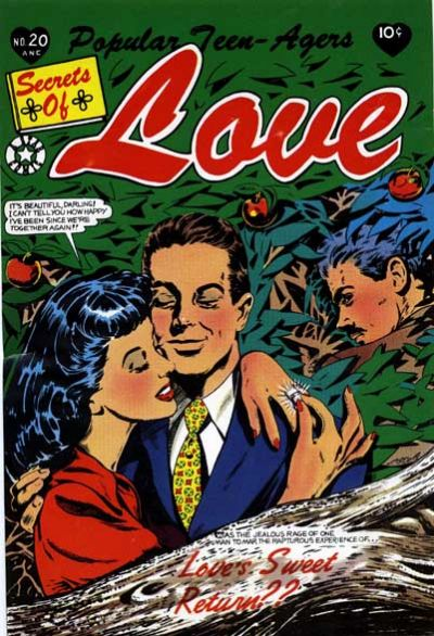 Cover for Popular Teen-Agers (Star Publications, 1950 series) #20