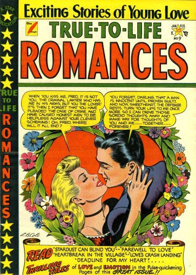 Cover for True-to-Life Romances (Star Publications, 1949 series) #9 [2]