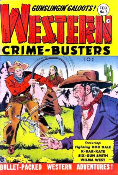Cover for Western Crime Busters (Trojan Magazines, 1950 series) #3