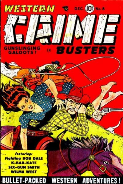 Cover for Western Crime Busters (Trojan Magazines, 1950 series) #8