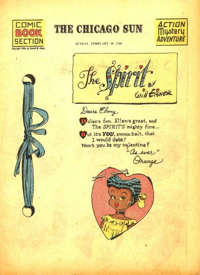 Cover for The Spirit (Register and Tribune Syndicate, 1940 series) #2/10/1946