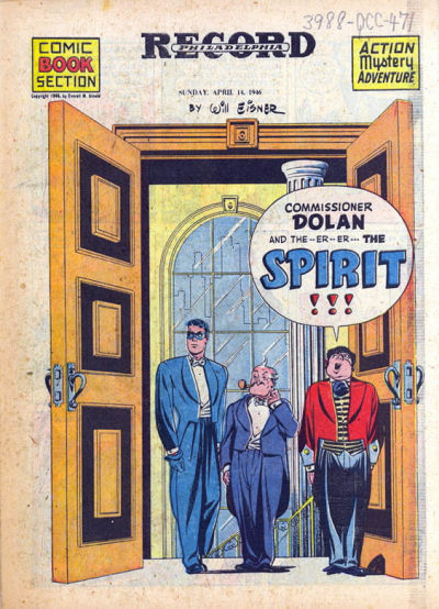Cover for The Spirit (Register and Tribune Syndicate, 1940 series) #4/14/1946