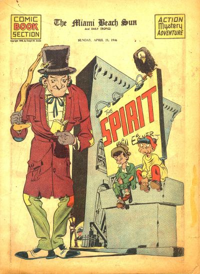 Cover for The Spirit (Register and Tribune Syndicate, 1940 series) #4/21/1946