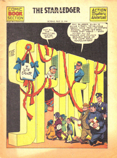 Cover for The Spirit (Register and Tribune Syndicate, 1940 series) #5/12/1946