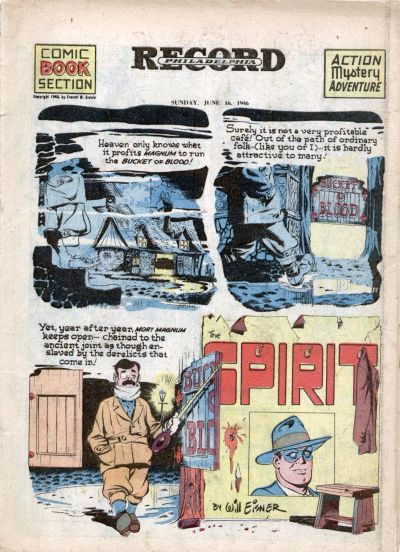Cover for The Spirit (Register and Tribune Syndicate, 1940 series) #6/16/1946