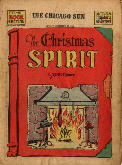 Cover for The Spirit (Register and Tribune Syndicate, 1940 series) #12/23/1945