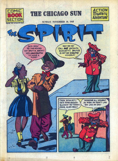 Cover for The Spirit (Register and Tribune Syndicate, 1940 series) #11/18/1945