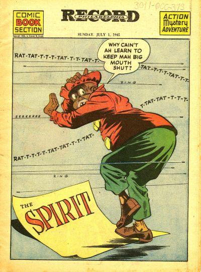 Cover for The Spirit (Register and Tribune Syndicate, 1940 series) #7/1/1945