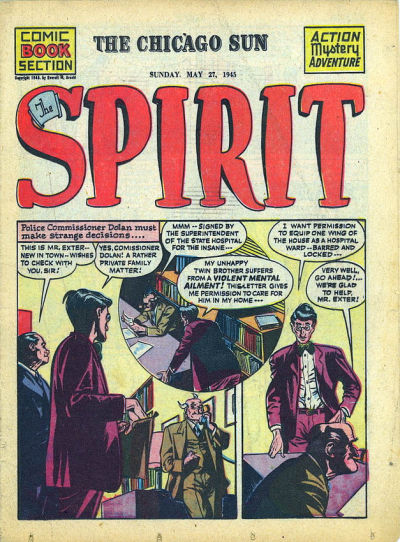 Cover for The Spirit (Register and Tribune Syndicate, 1940 series) #5/27/1945