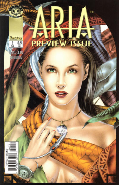 Cover for Aria Preview (Image, 1998 series) #1