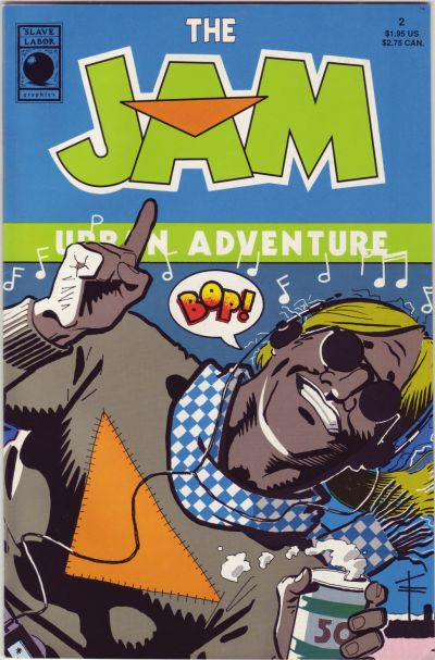 Cover for The Jam (Slave Labor, 1989 series) #2