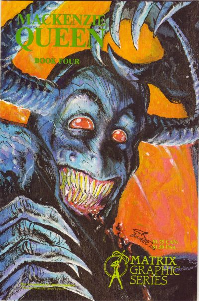 Cover for MacKenzie Queen (Matrix Graphic Series, 1985 series) #4