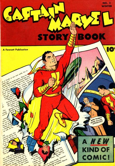 Cover for Captain Marvel Story Book (Fawcett, 1946 series) #2