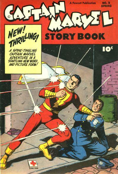 Cover for Captain Marvel Story Book (Fawcett, 1946 series) #3
