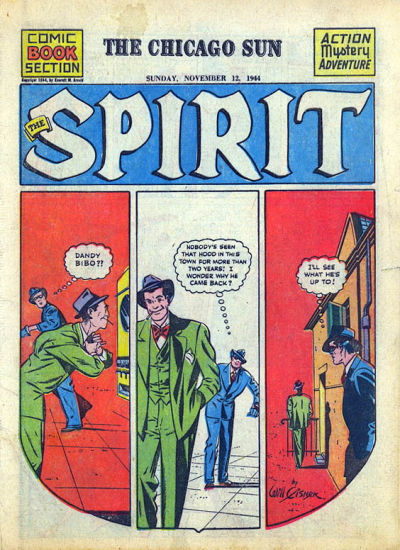 Cover for The Spirit (Register and Tribune Syndicate, 1940 series) #11/12/1944