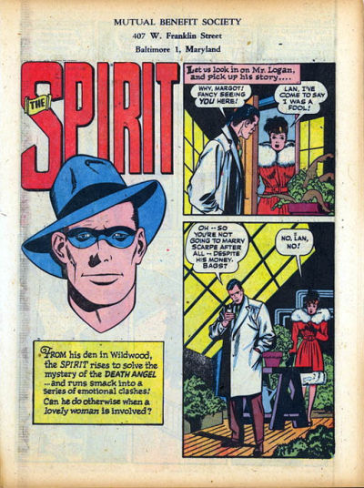 Cover for The Spirit (Register and Tribune Syndicate, 1940 series) #12/31/1944