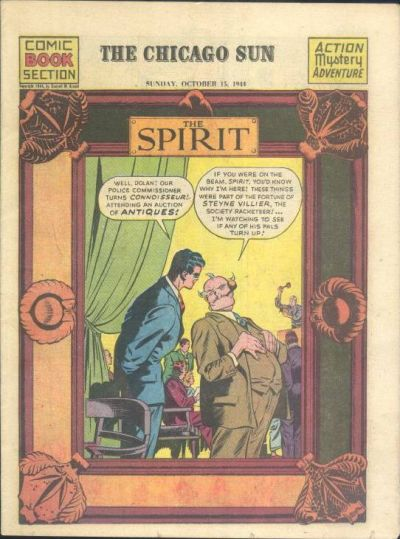Cover for The Spirit (Register and Tribune Syndicate, 1940 series) #10/15/1944