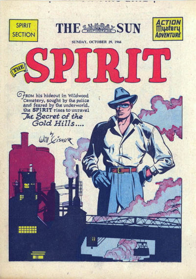 Cover for The Spirit (Register and Tribune Syndicate, 1940 series) #10/29/1944