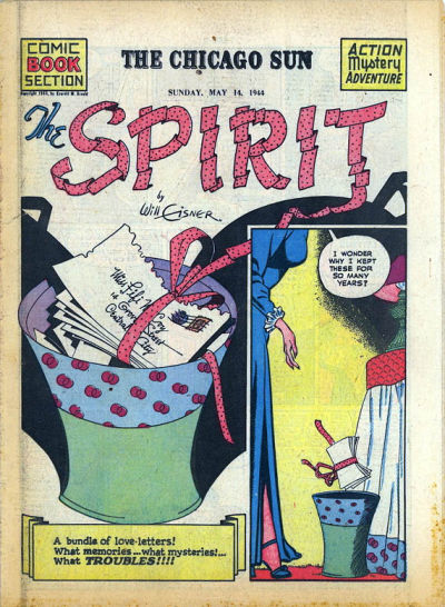 Cover for The Spirit (Register and Tribune Syndicate, 1940 series) #5/14/1944