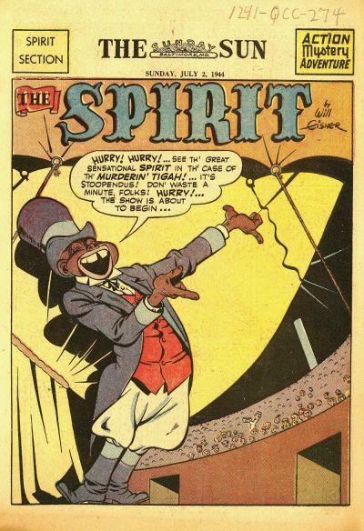 Cover for The Spirit (Register and Tribune Syndicate, 1940 series) #7/2/1944