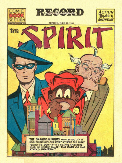 Cover for The Spirit (Register and Tribune Syndicate, 1940 series) #7/30/1944