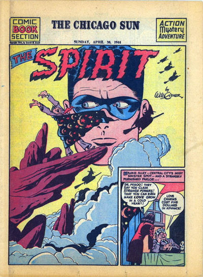 Cover for The Spirit (Register and Tribune Syndicate, 1940 series) #4/30/1944