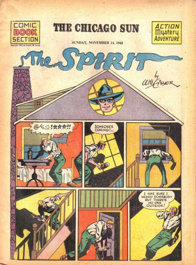 Cover for The Spirit (Register and Tribune Syndicate, 1940 series) #11/14/1943