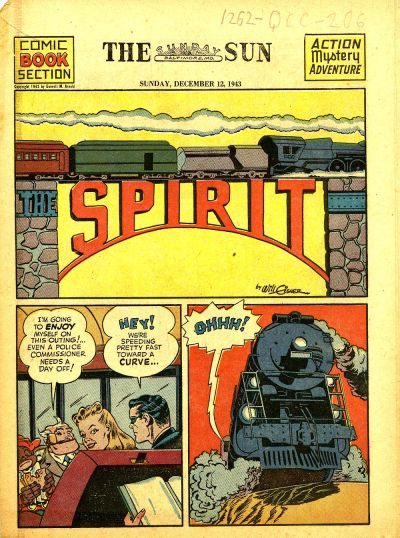Cover for The Spirit (Register and Tribune Syndicate, 1940 series) #12/12/1943