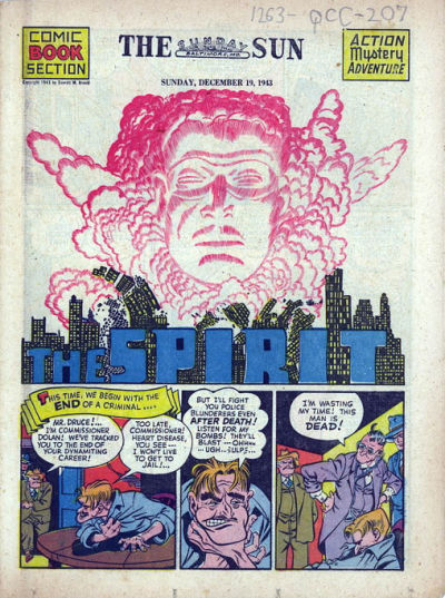 Cover for The Spirit (Register and Tribune Syndicate, 1940 series) #12/19/1943