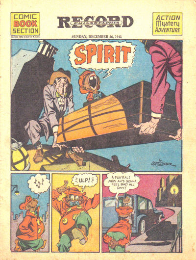Cover for The Spirit (Register and Tribune Syndicate, 1940 series) #12/26/1943