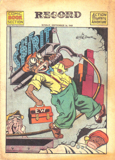 Cover for The Spirit (Register and Tribune Syndicate, 1940 series) #9/26/1943