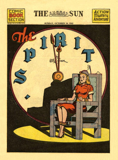 Cover for The Spirit (Register and Tribune Syndicate, 1940 series) #10/10/1943