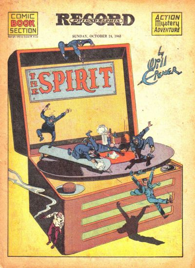 Cover for The Spirit (Register and Tribune Syndicate, 1940 series) #10/24/1943