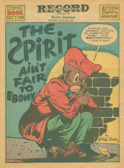 Cover for The Spirit (Register and Tribune Syndicate, 1940 series) #5/30/1943