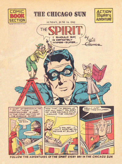 Cover for The Spirit (Register and Tribune Syndicate, 1940 series) #6/14/1942