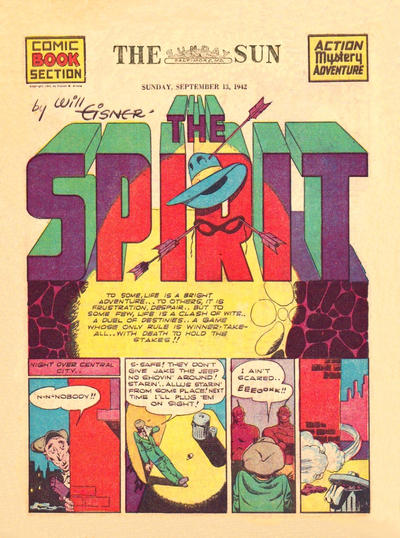 Cover for The Spirit (Register and Tribune Syndicate, 1940 series) #9/13/1942