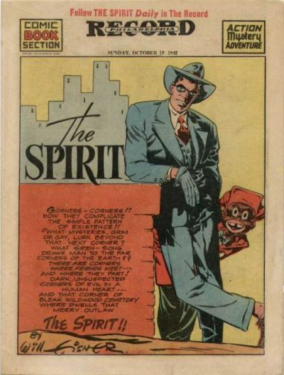 Cover for The Spirit (Register and Tribune Syndicate, 1940 series) #10/18/1942