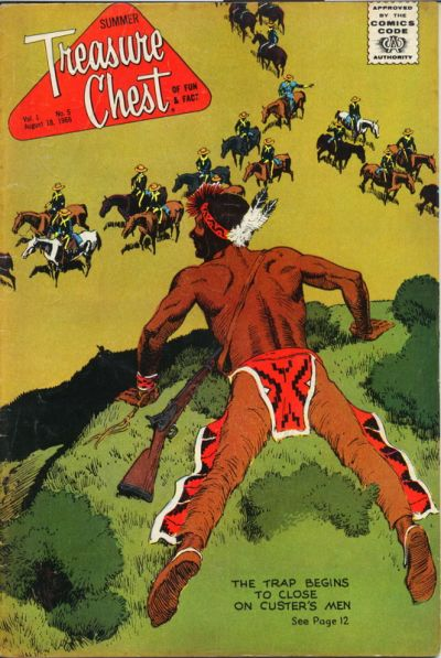 Cover for Treasure Chest Summer Edition (George A. Pflaum, 1966 series) #v1#5