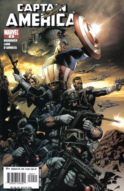 Cover for Captain America (Marvel, 2005 series) #9
