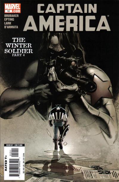 Cover for Captain America (Marvel, 2005 series) #12