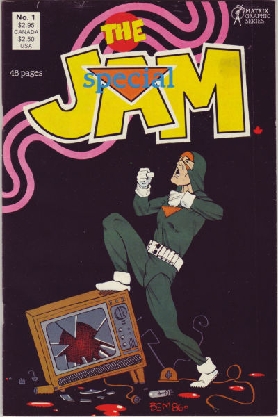 Cover for The Jam Special (Matrix Graphic Series, 1987 series) #1