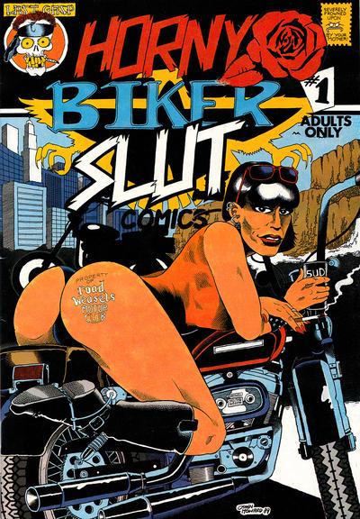 Cover for Horny Biker Slut Comics (Last Gasp, 1990 series) #1