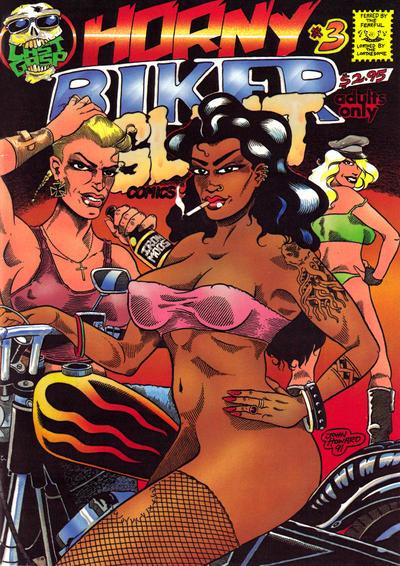 Cover for Horny Biker Slut Comics (Last Gasp, 1990 series) #3