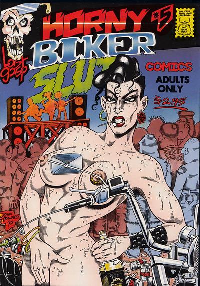 Cover for Horny Biker Slut Comics (Last Gasp, 1990 series) #5