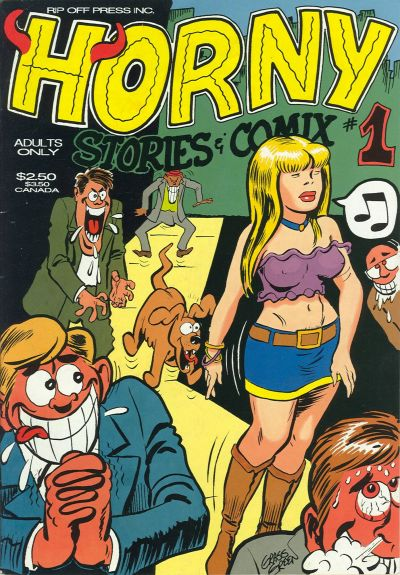 Cover for Horny Stories and Comix (Rip Off Press, 1991 series) #1