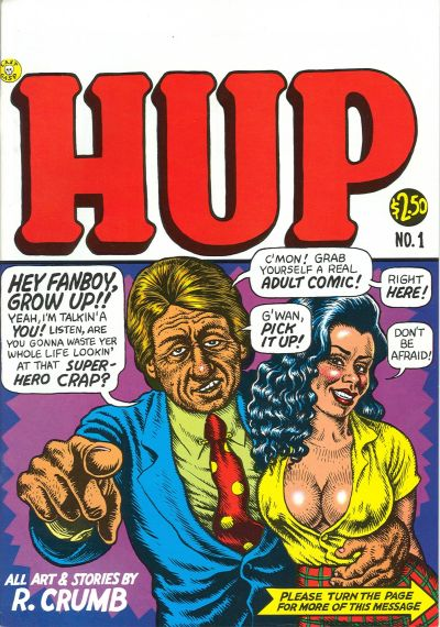 Cover for Hup (Last Gasp, 1986 series) #1