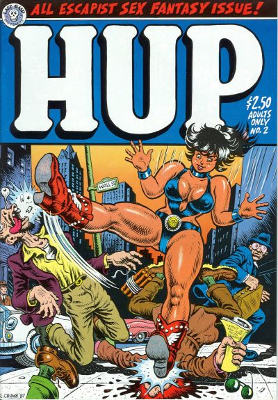 Cover for Hup (Last Gasp, 1986 series) #2