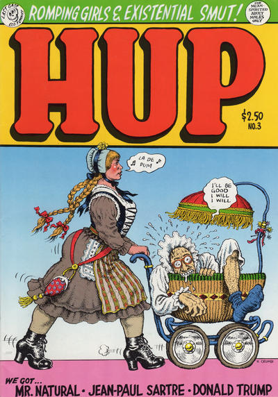 Cover for Hup (Last Gasp, 1986 series) #3