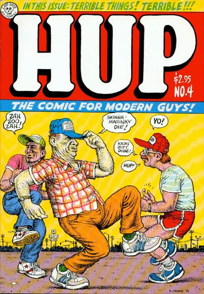 Cover for Hup (Last Gasp, 1986 series) #4
