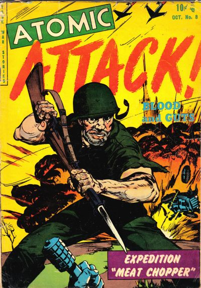 Cover for Atomic Attack (Youthful, 1953 series) #8